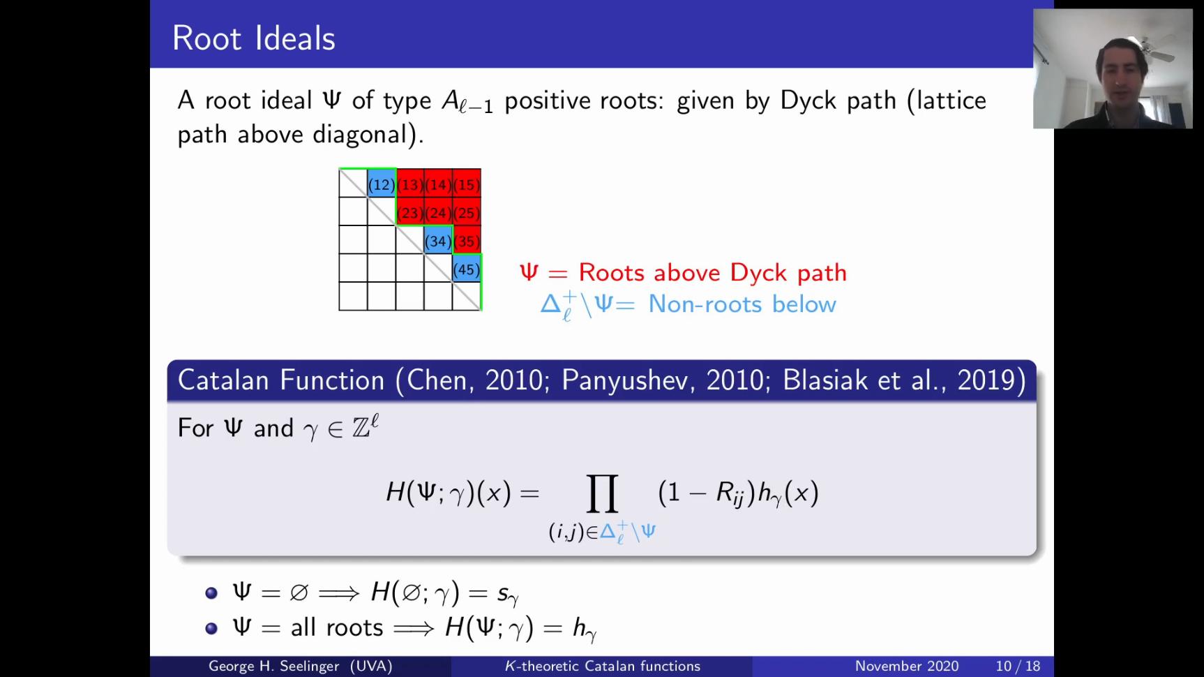 A screenshot of the presentation